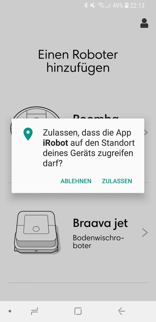 iRobot Roomba 980 App installieren 11