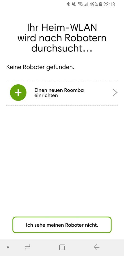 iRobot Roomba 980 App installieren 12