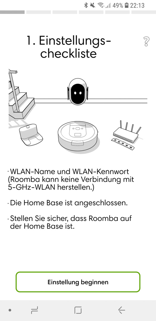 iRobot Roomba 980 App installieren 13