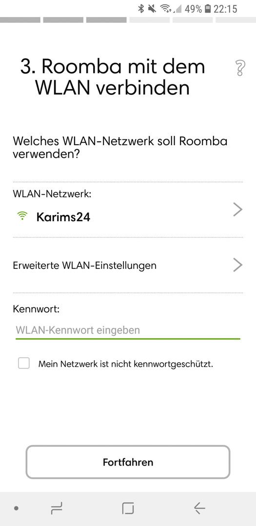 iRobot Roomba 980 App installieren 15