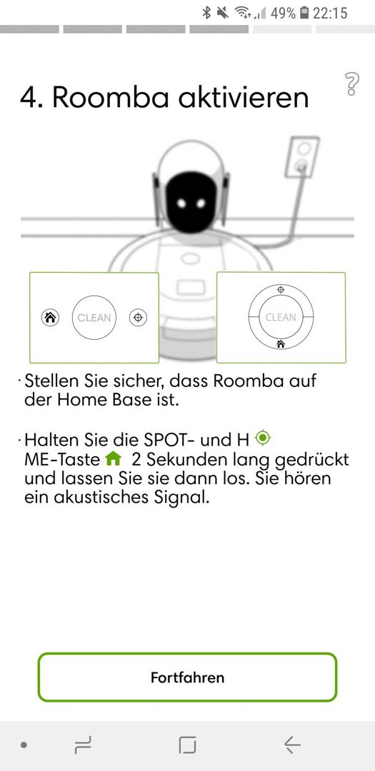 iRobot Roomba 980 App installieren 16