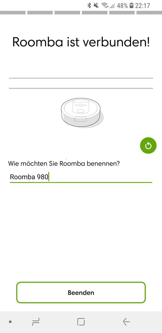 iRobot Roomba 980 App installieren 21