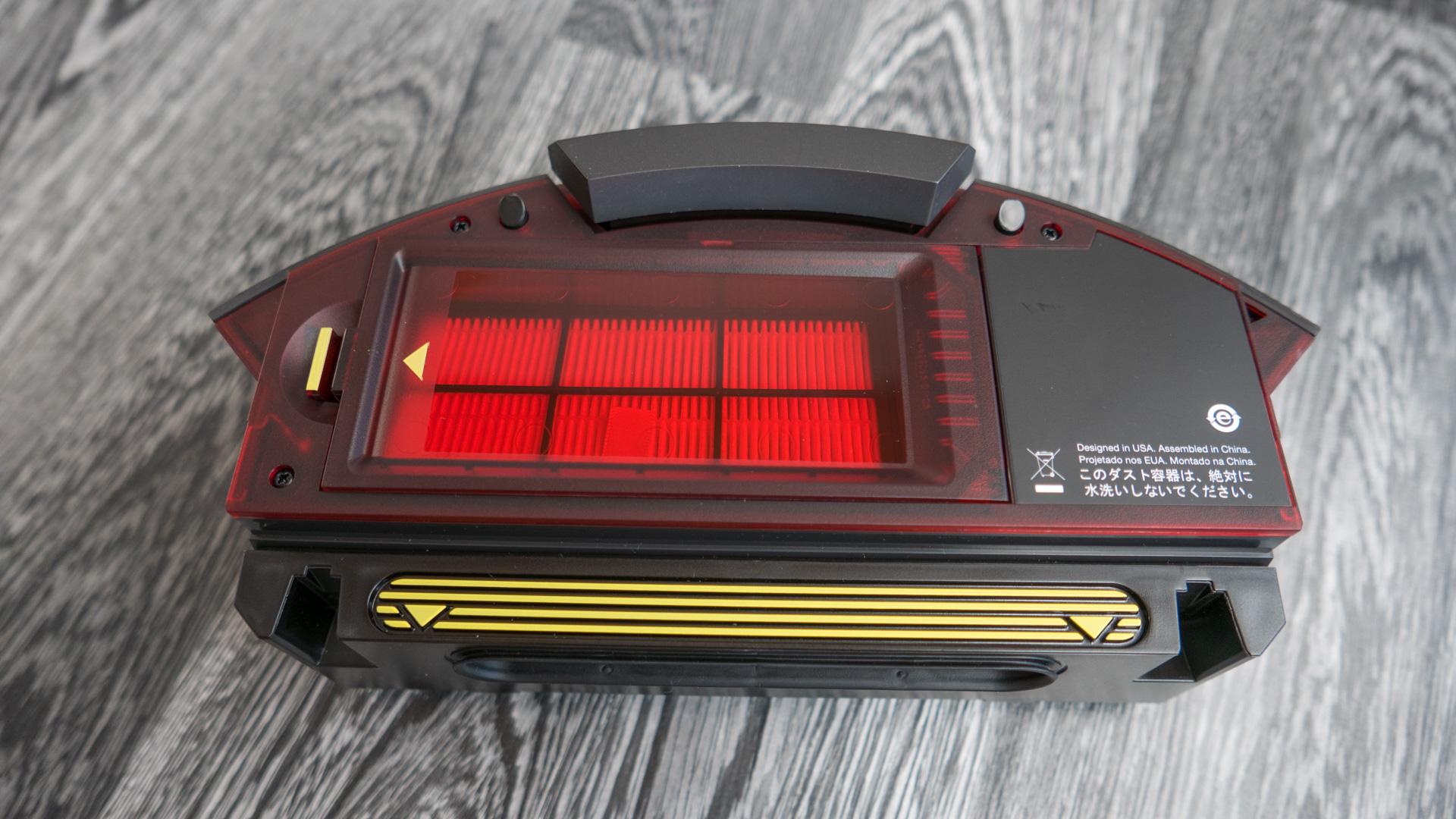 iRobot Roomba 980 Staubbehälter 01