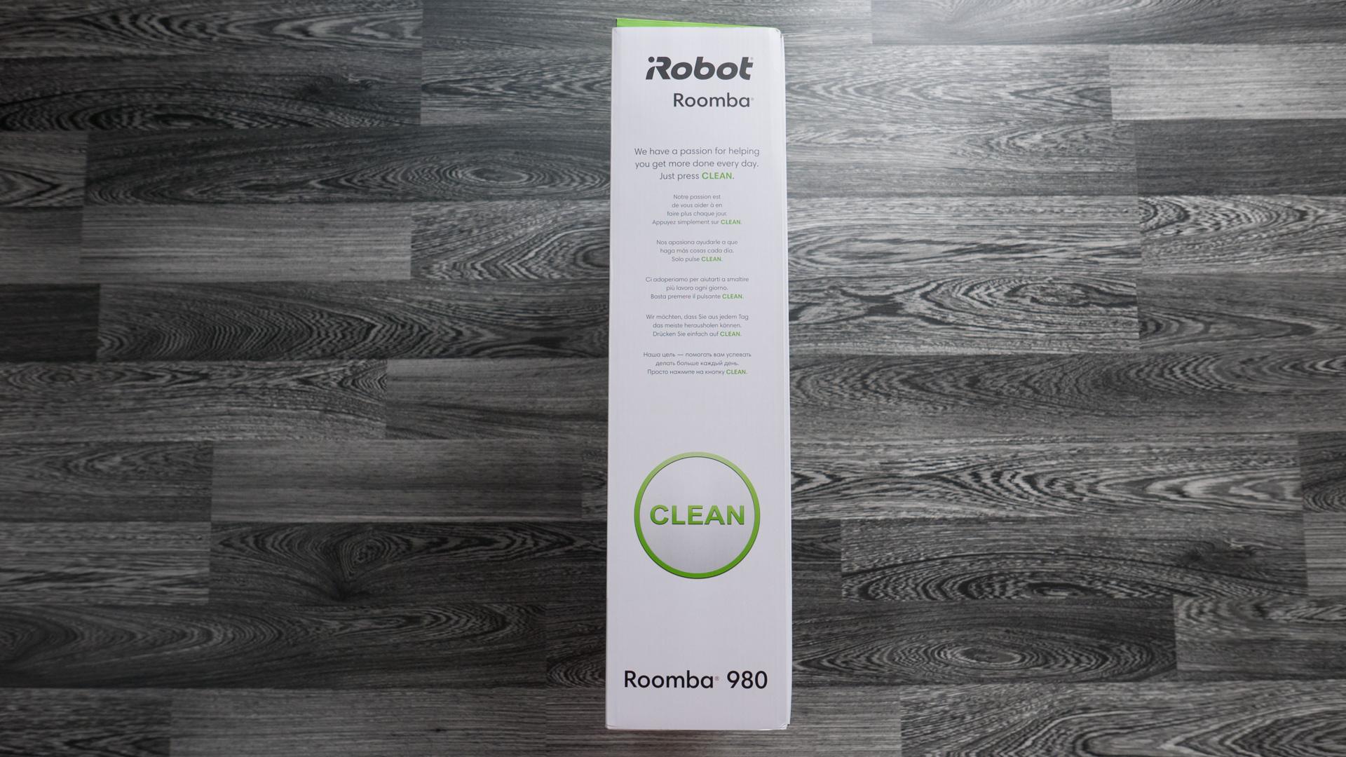 iRobot Roomba 980 Unboxing 06