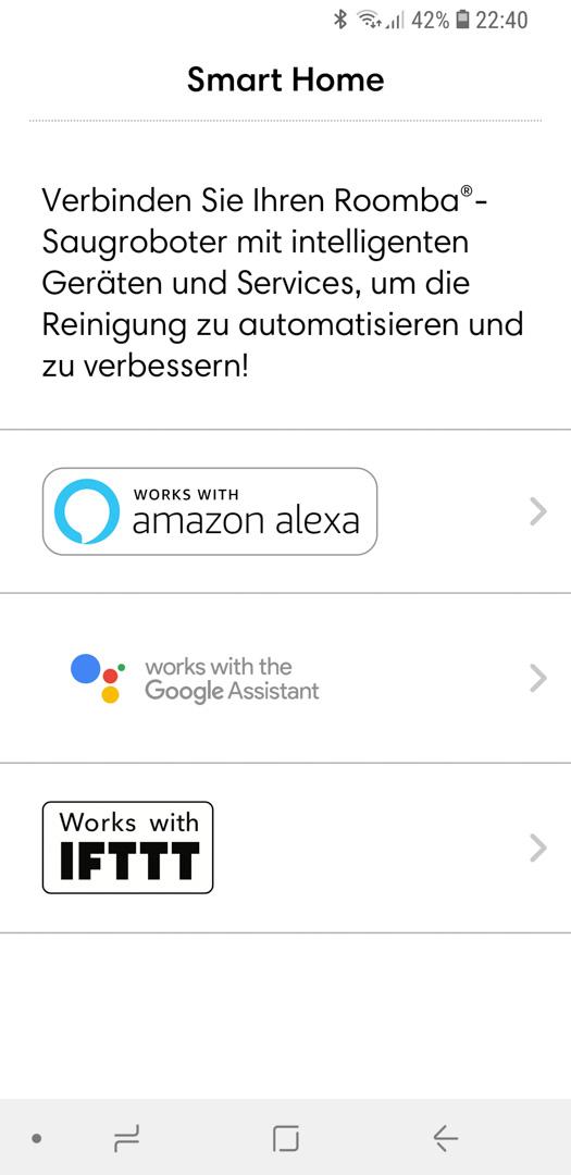 iRobot Roomba mit Alexa 03
