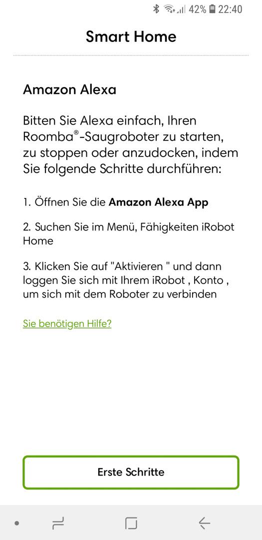 iRobot Roomba mit Alexa 04