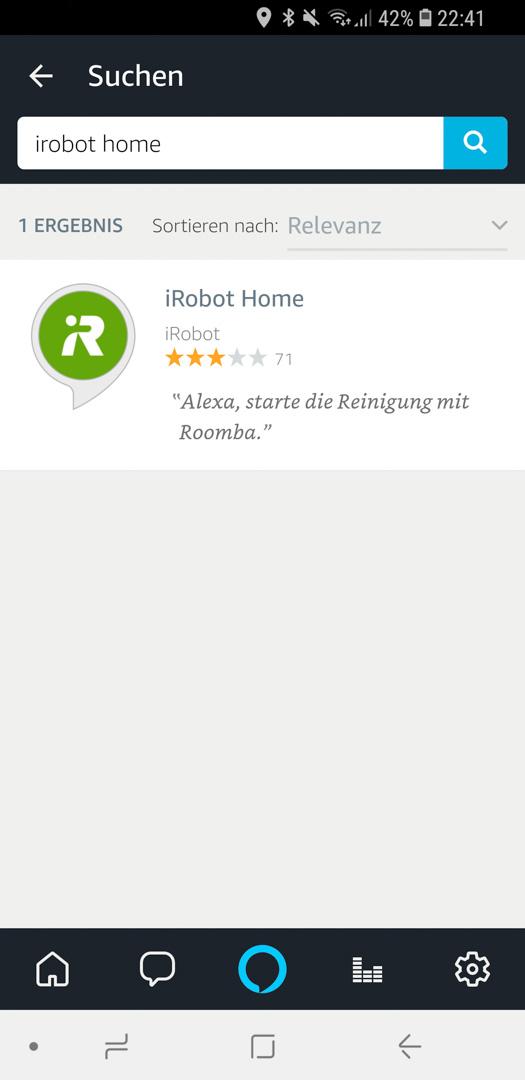 iRobot Roomba mit Alexa 08
