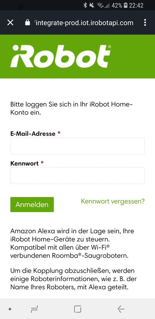 iRobot Roomba mit Alexa 11