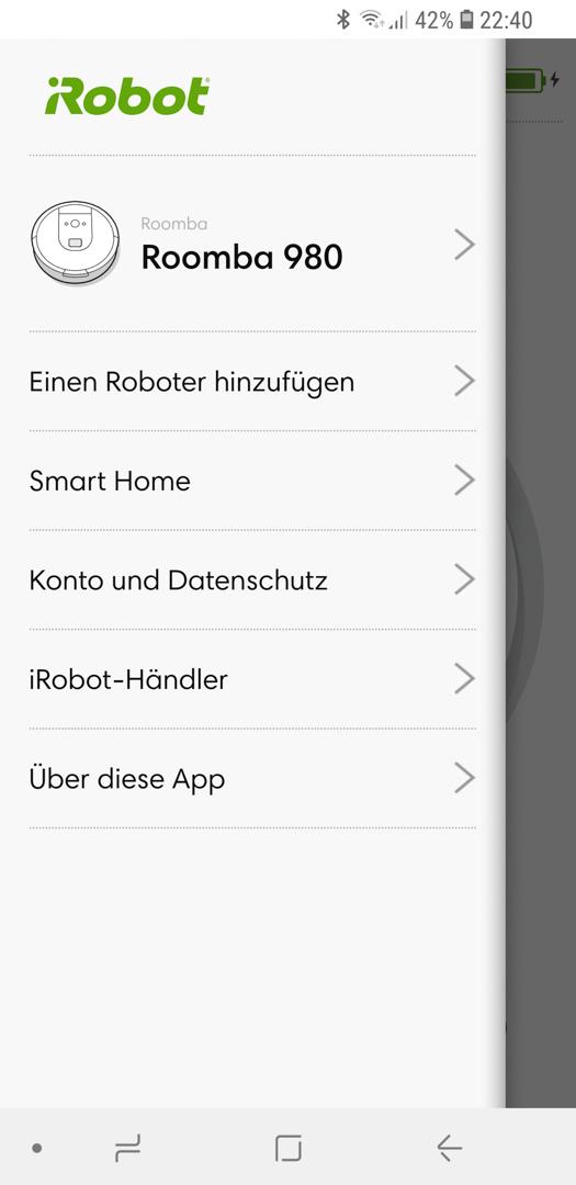 iRobot Roomba mit Google 02