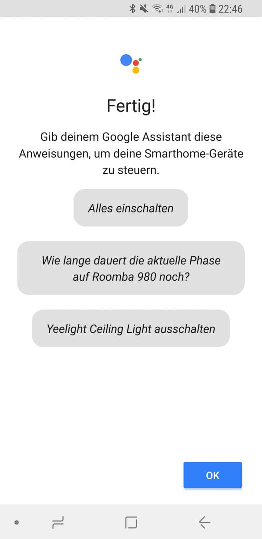 iRobot Roomba mit Google 18
