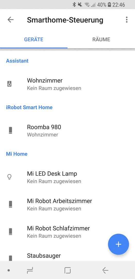 iRobot Roomba mit Google 19