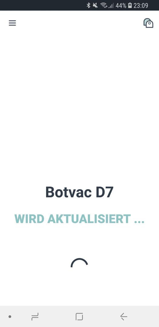 Neato Botvac D7 App Roboter Update 04