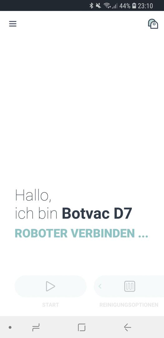 Neato Botvac D7 App Roboter Update 05