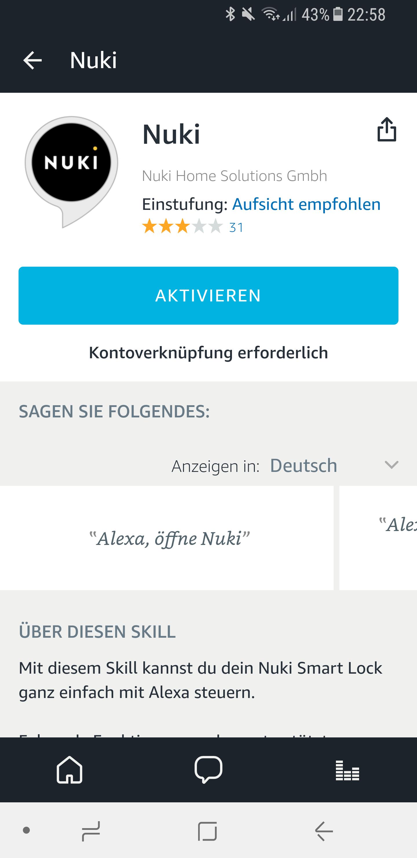 Nuki mit Alexa verbinden 10