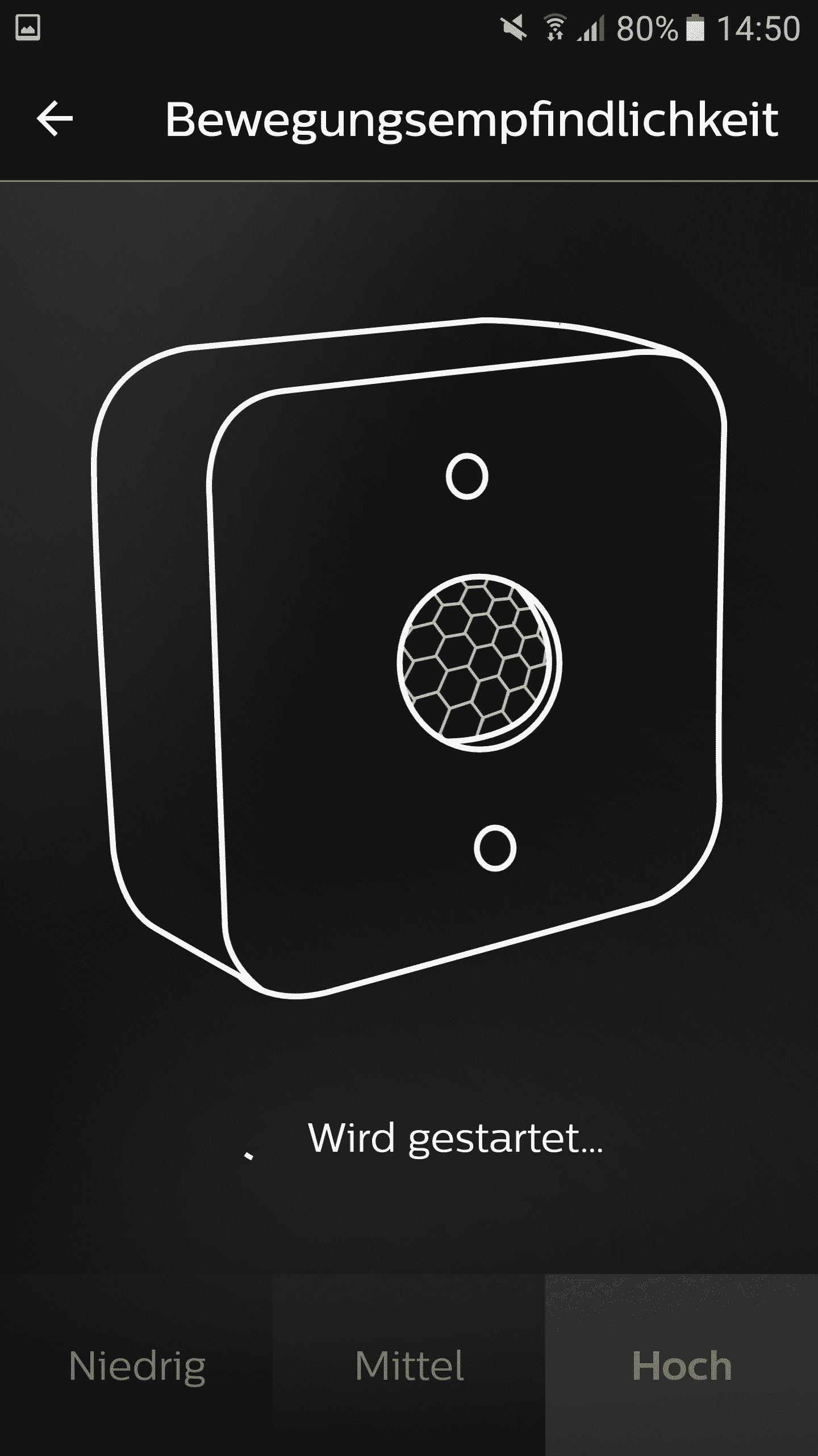 Philips-Hue-Bewegungsmelder-Emfindlichkeit