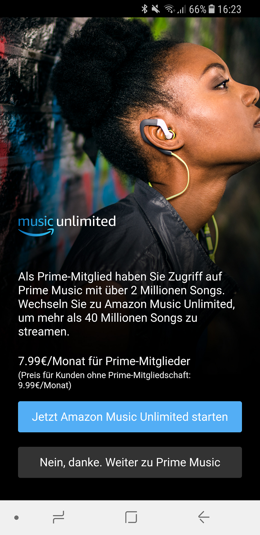 Prime Music anmelden 4