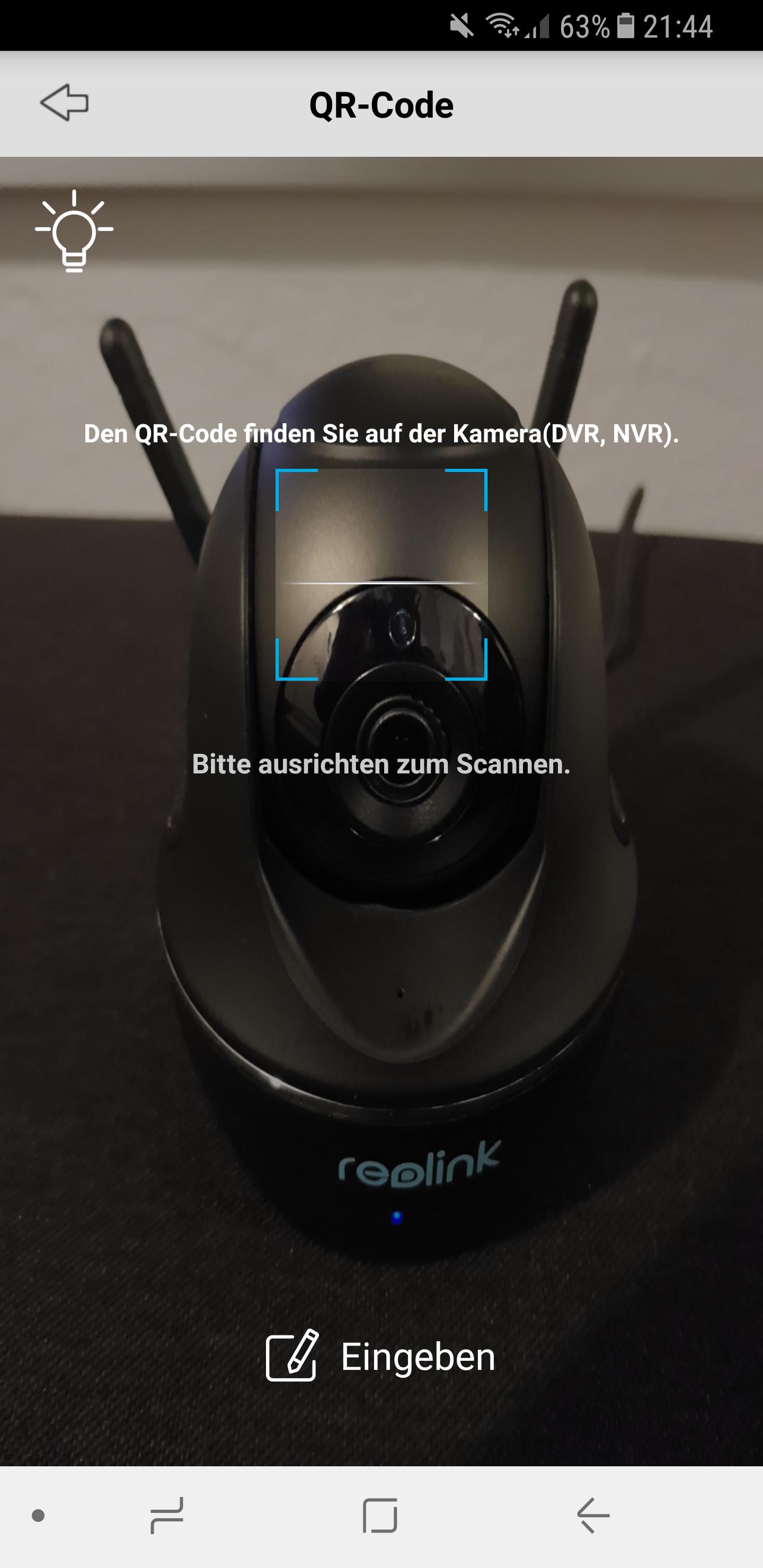 Reolink Kamera C1 Pro einrichten 6