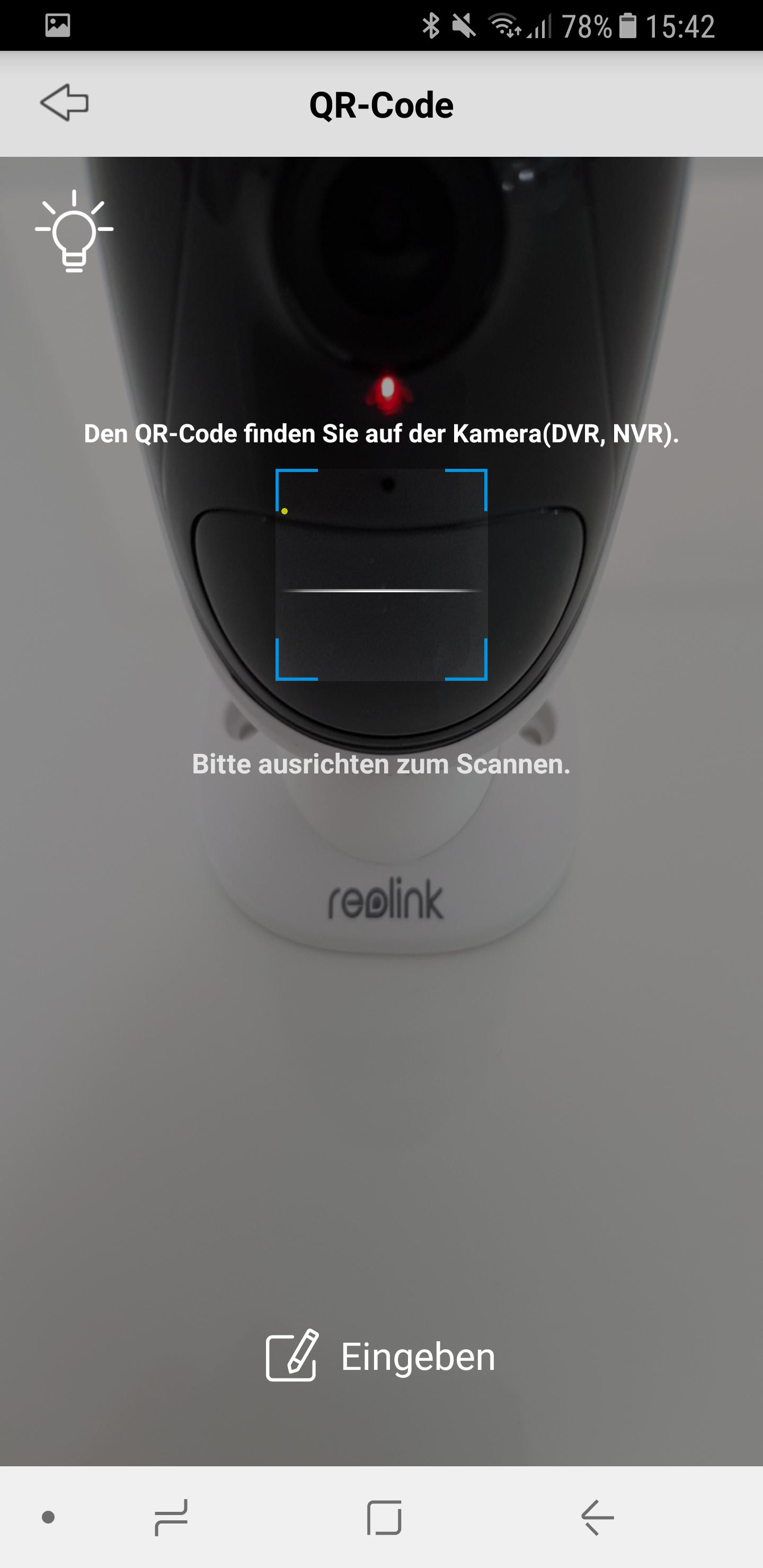 Reolink Kamera einrichten 6