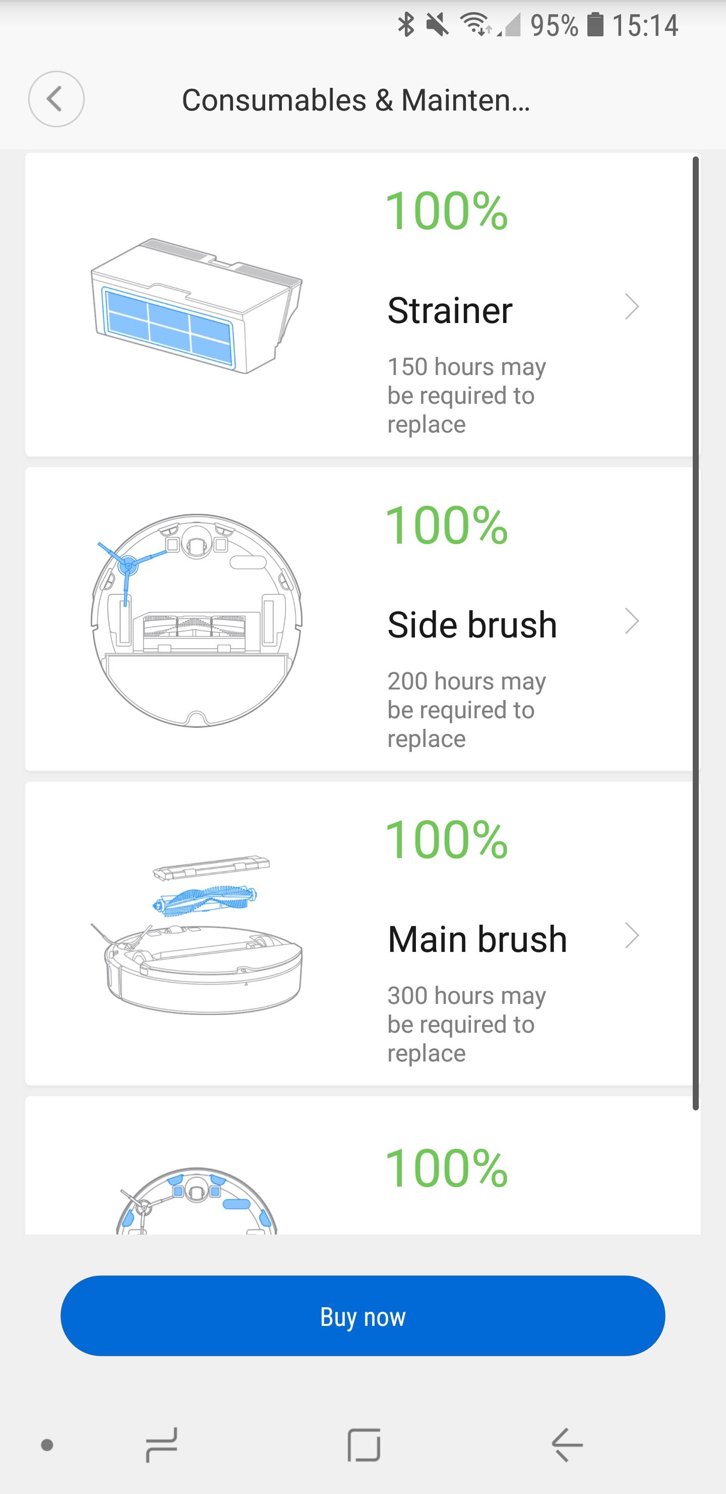 Xiaomi roborock Xiaowa App Details 08