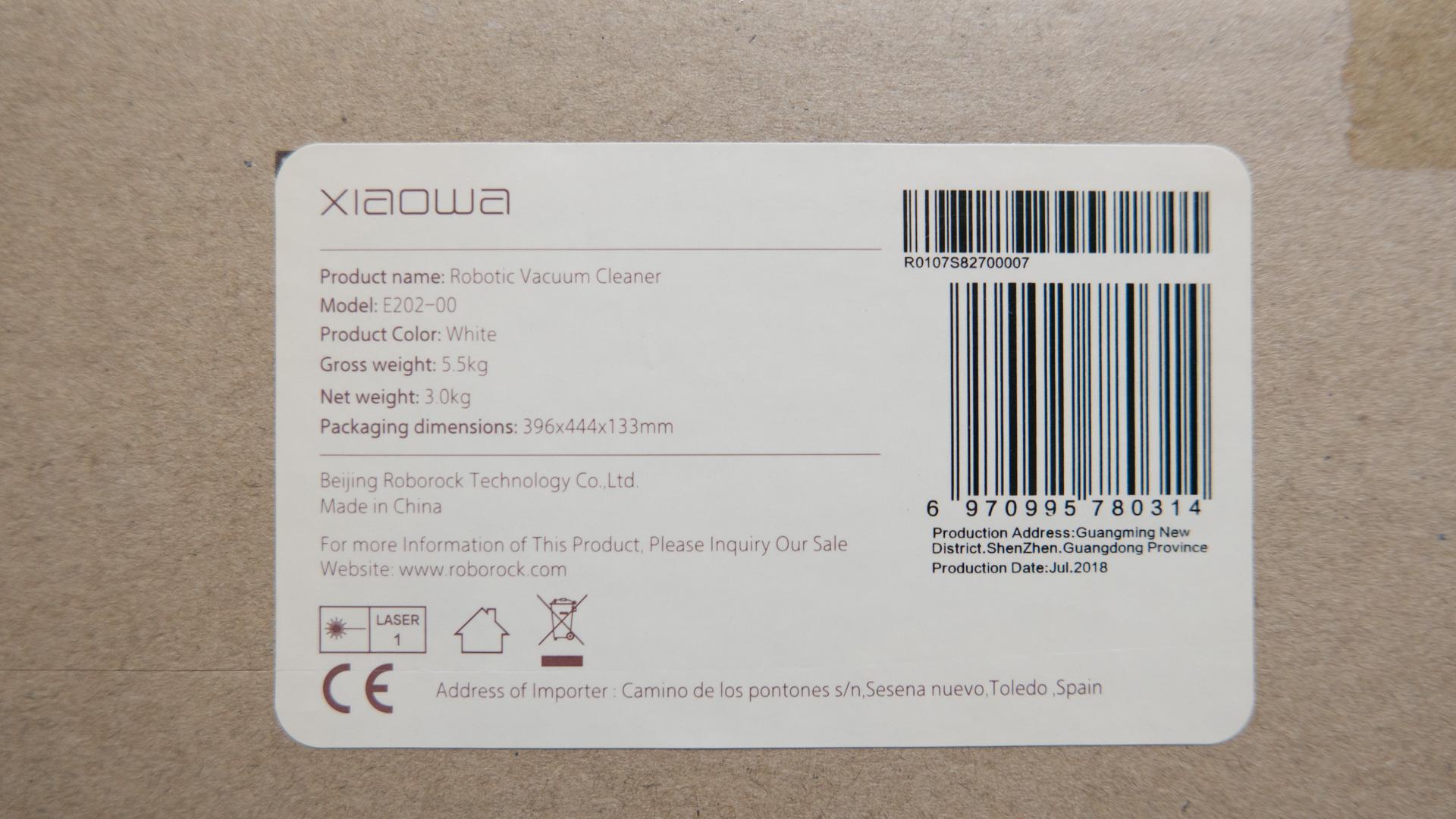 Xiaomi roborock Xiaowa Unboxing 05