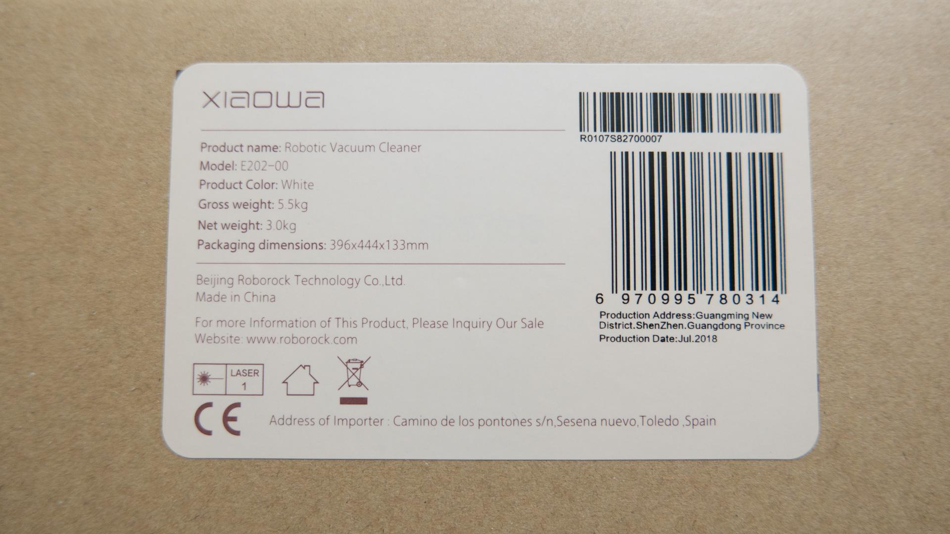 Xiaomi roborock Xiaowa Unboxing 12