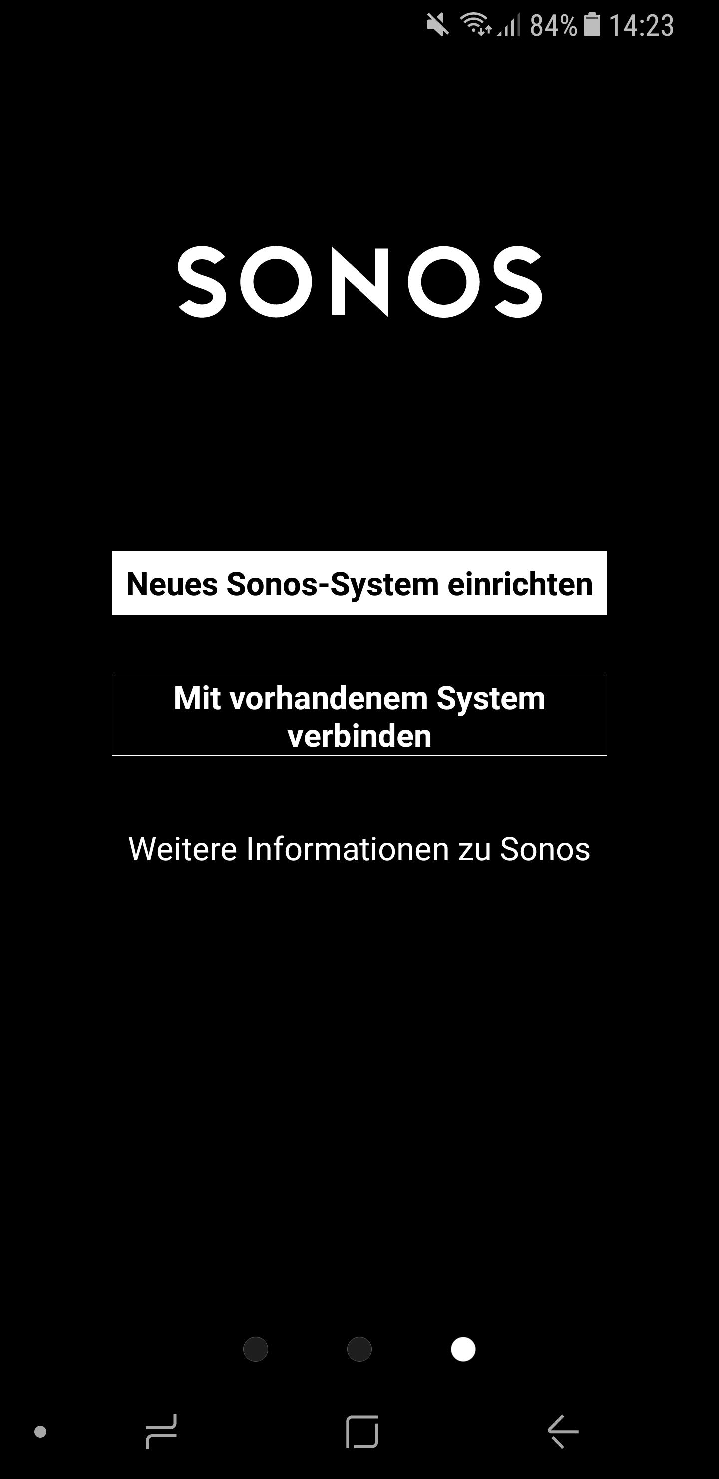 Sonos Anmeldung 3