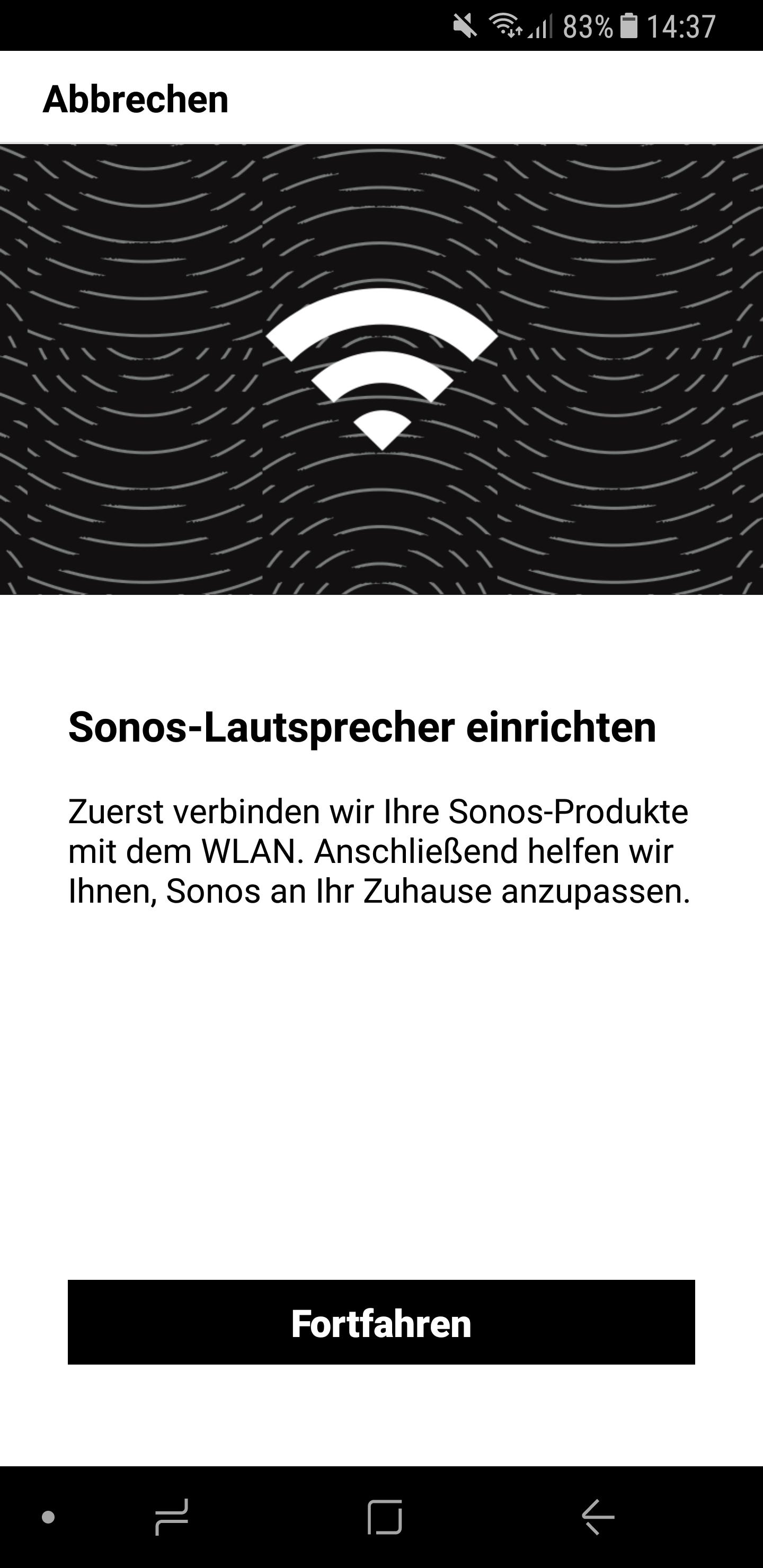 Sonos Lautsprecher einrichten 1