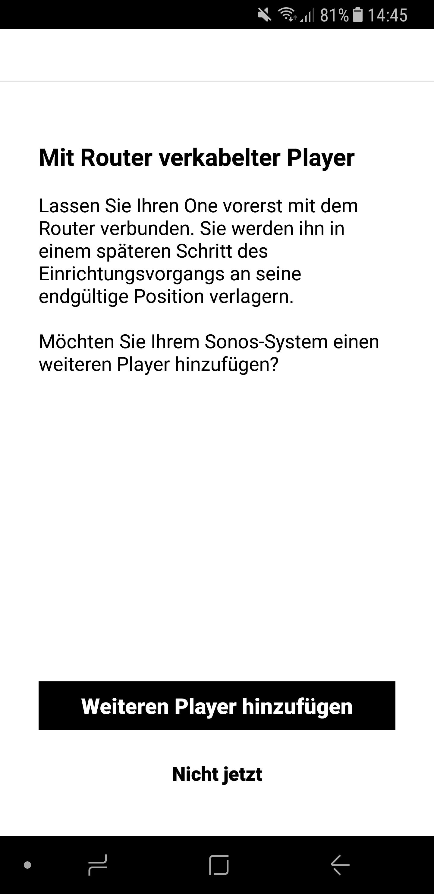 Sonos Lautsprecher einrichten 19