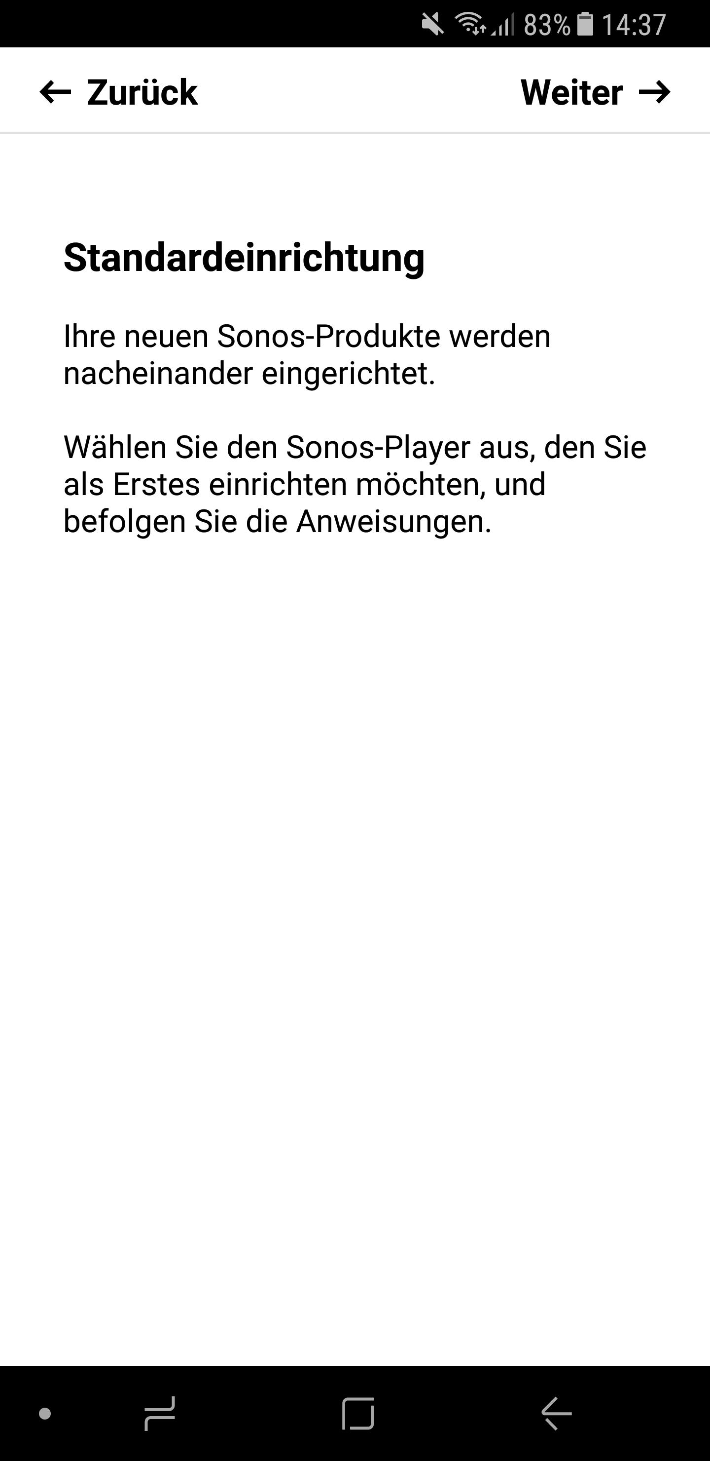 Sonos Lautsprecher einrichten 3
