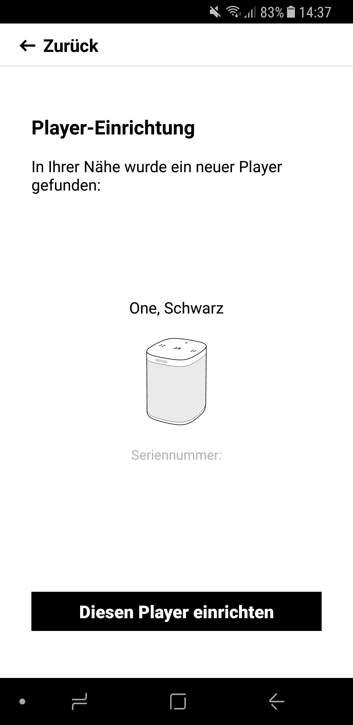 Sonos Lautsprecher einrichten 4