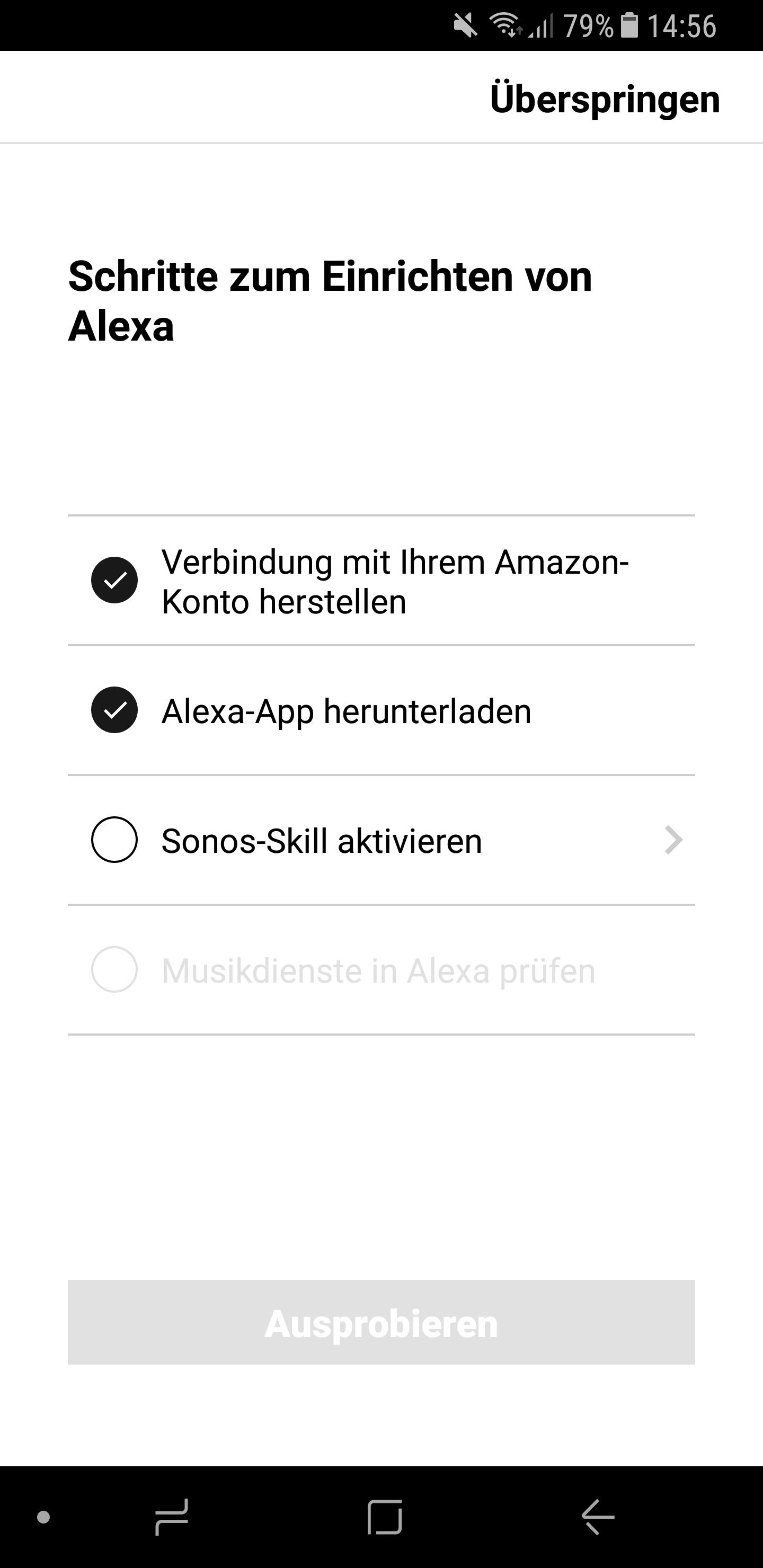 Sonos One Alexa einrichten 10