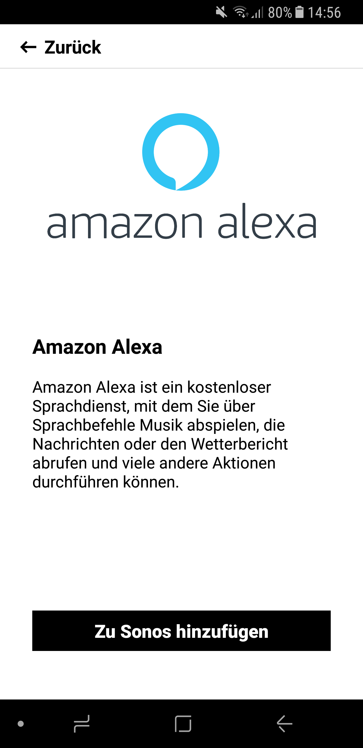Sonos One Alexa einrichten 4