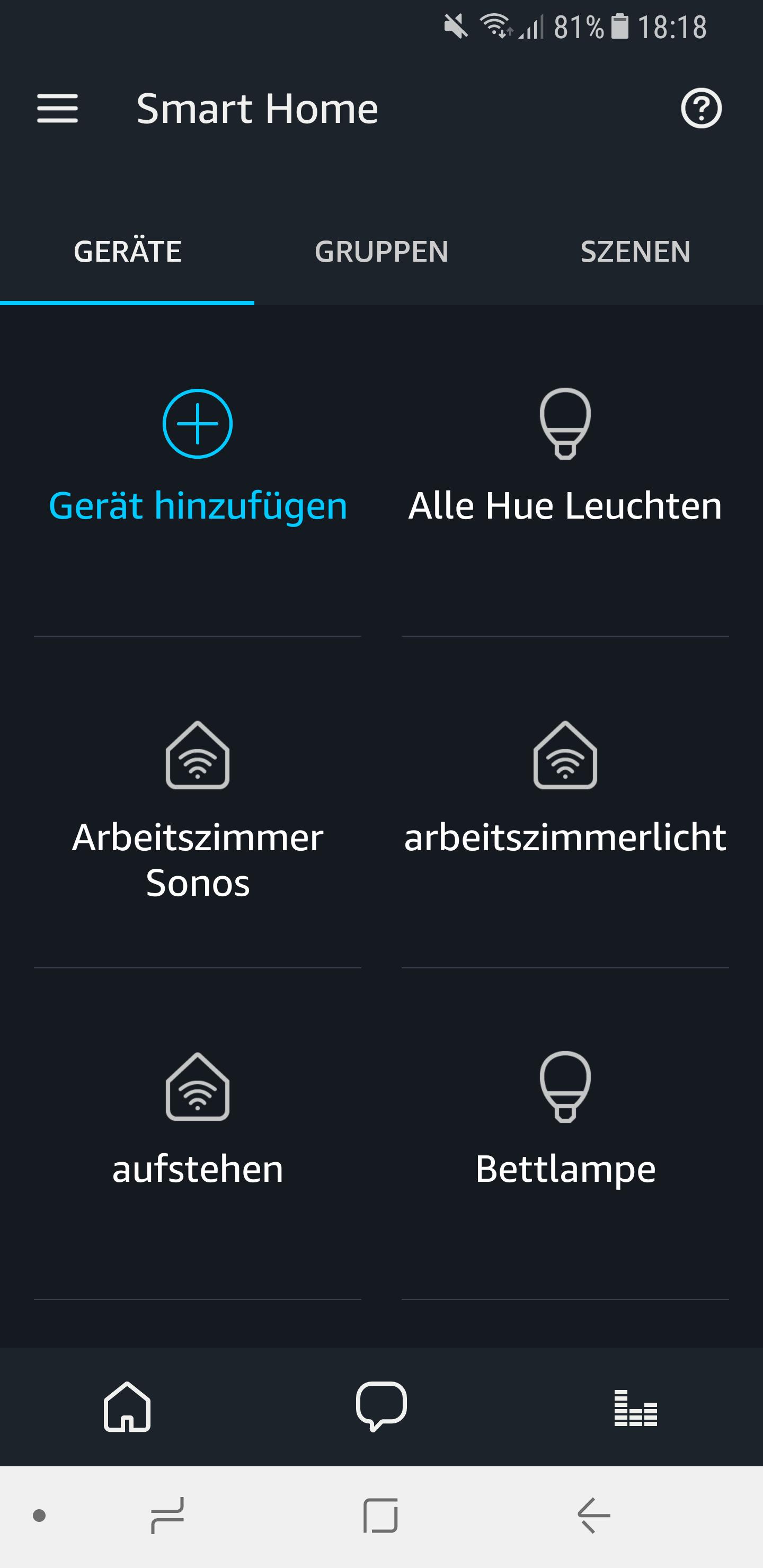Sonos Skill einrichten 10