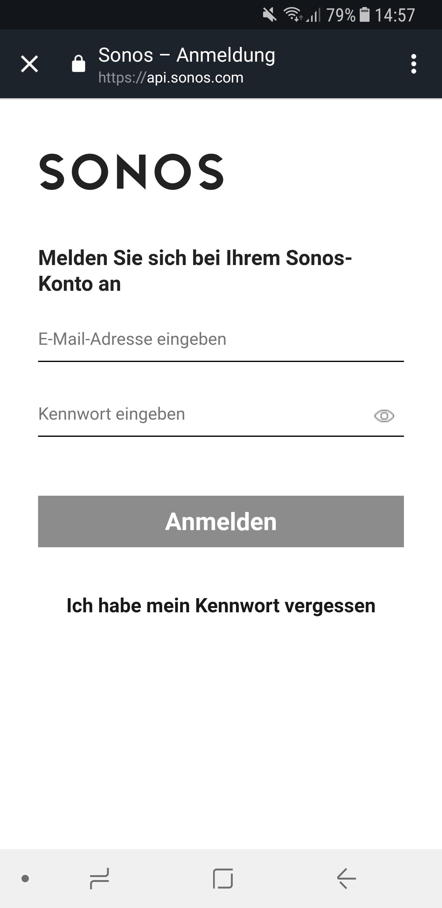 Sonos Skill einrichten 4
