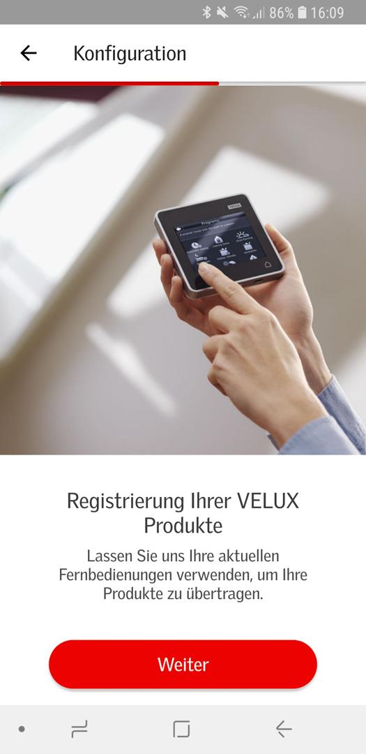 Velux Active einrichten 30