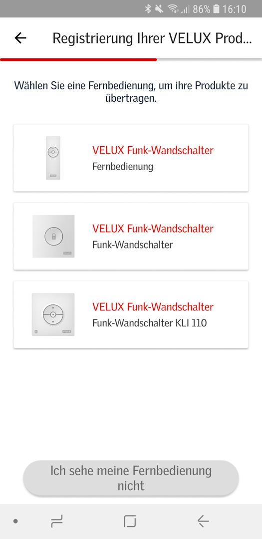 Velux Active einrichten 33
