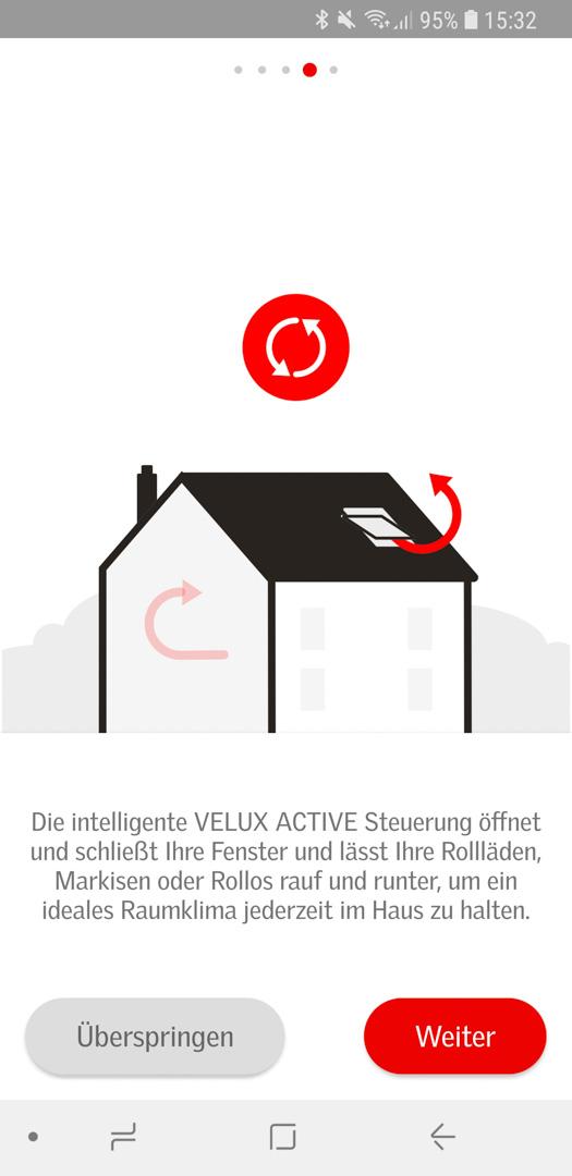 Velux Active einrichten 61