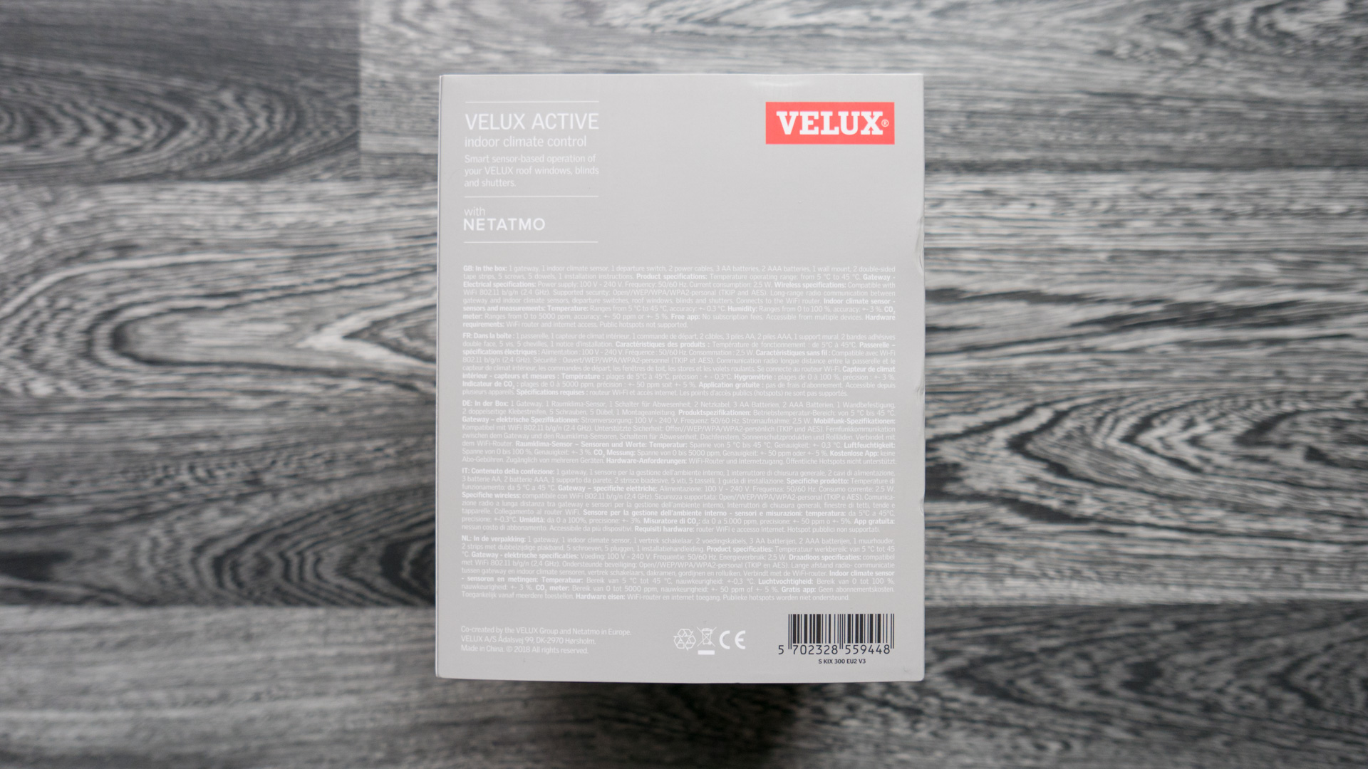 Velux Active Unboxing 04