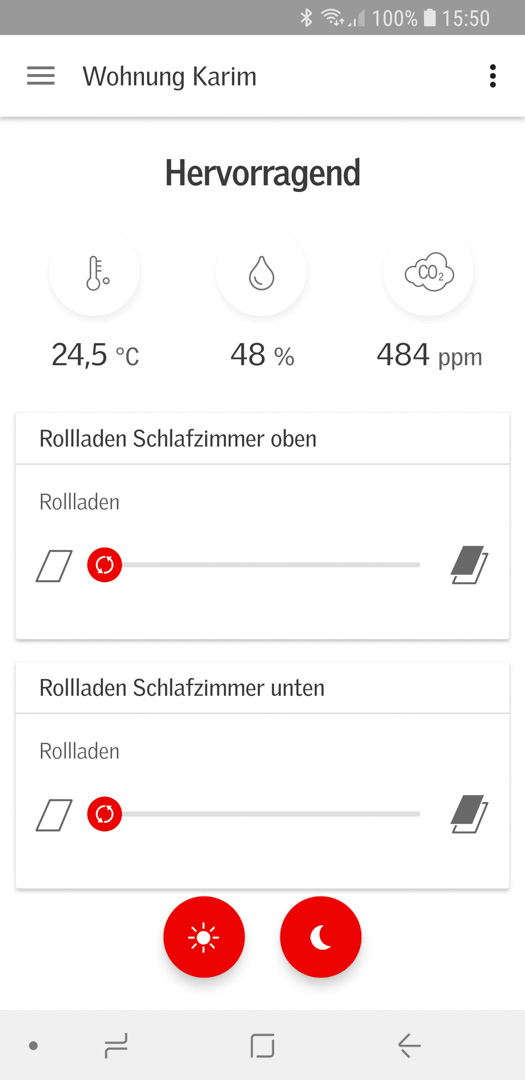 Velux KSX 100K mit KLI 310 in Smart Active einbinden 01