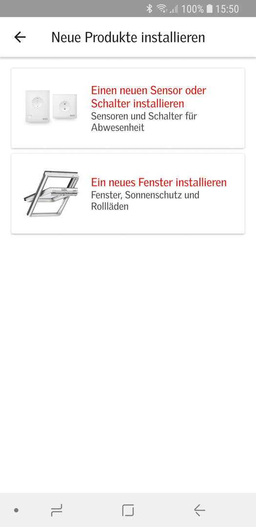 Velux KSX 100K mit KLI 310 in Smart Active einbinden 03