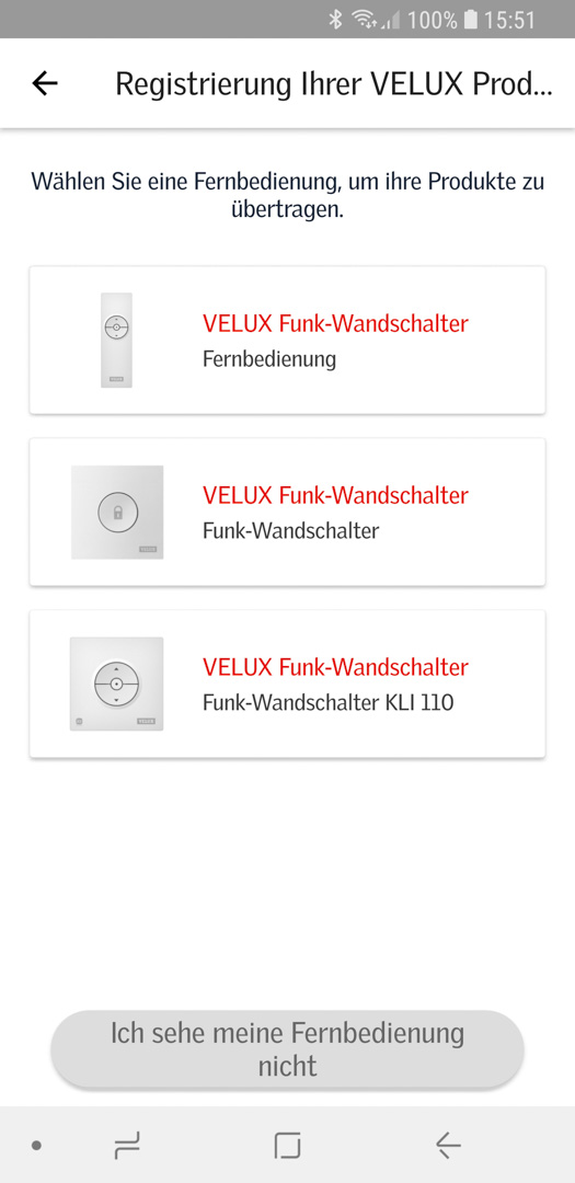 Velux KSX 100K mit KLI 310 in Smart Active einbinden 08