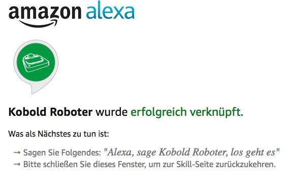 Vorwerk Kobold VR200 mit Alexa verbinden 04