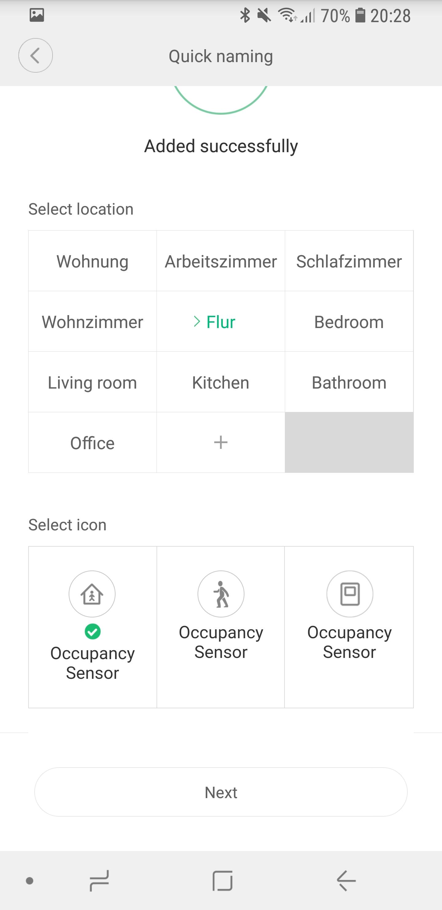 Xiaomi Mi Home Bewegungsmelder einrichten 06