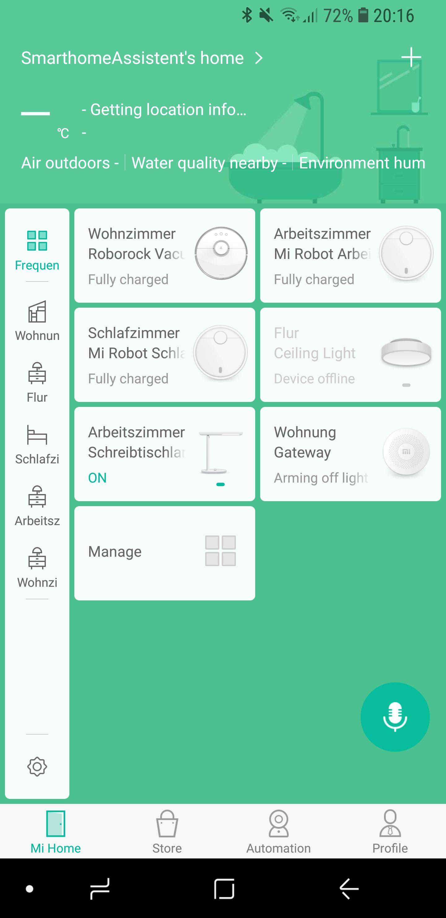 Xiaomi Mi Home Temperatursensor einrichten 01