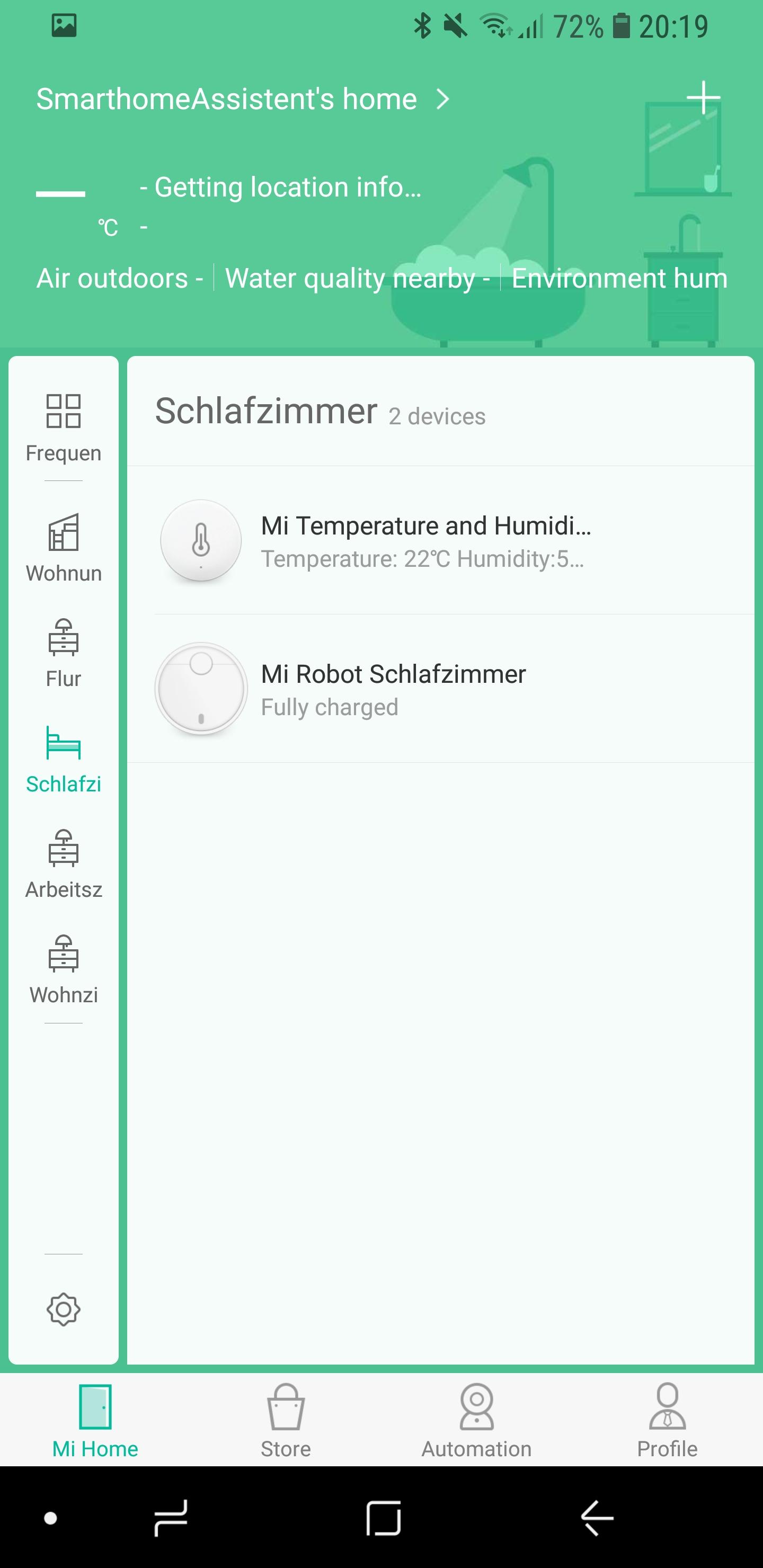 Xiaomi Mi Home Temperatursensor einrichten 07
