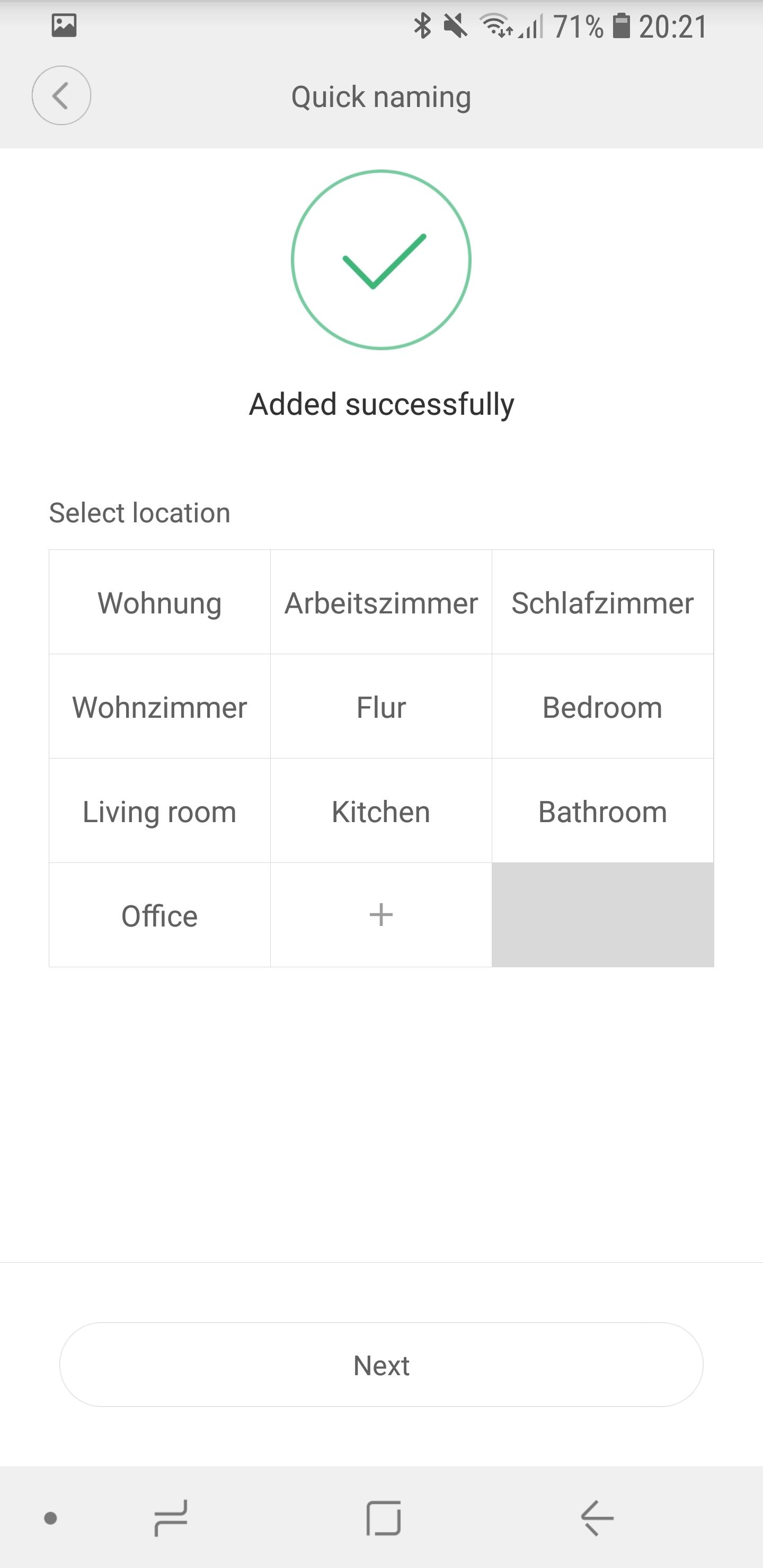 Xiaomi Mi Home Tür und Fensterkontakt einrichten 06