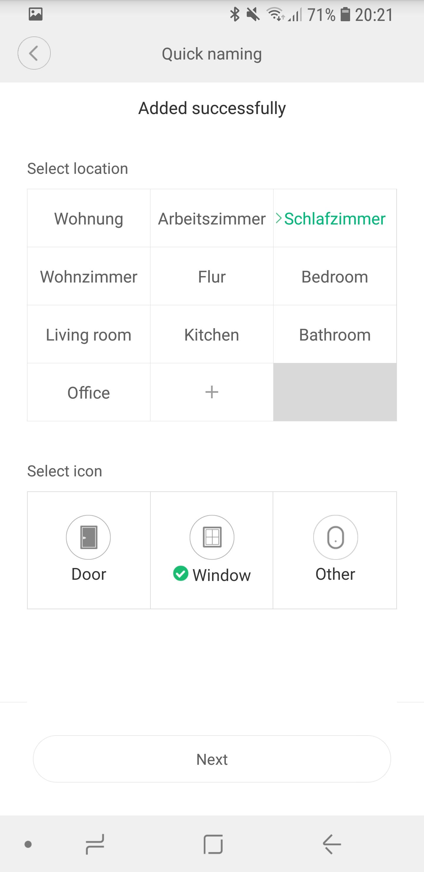 Xiaomi Mi Home Tür und Fensterkontakt einrichten 07