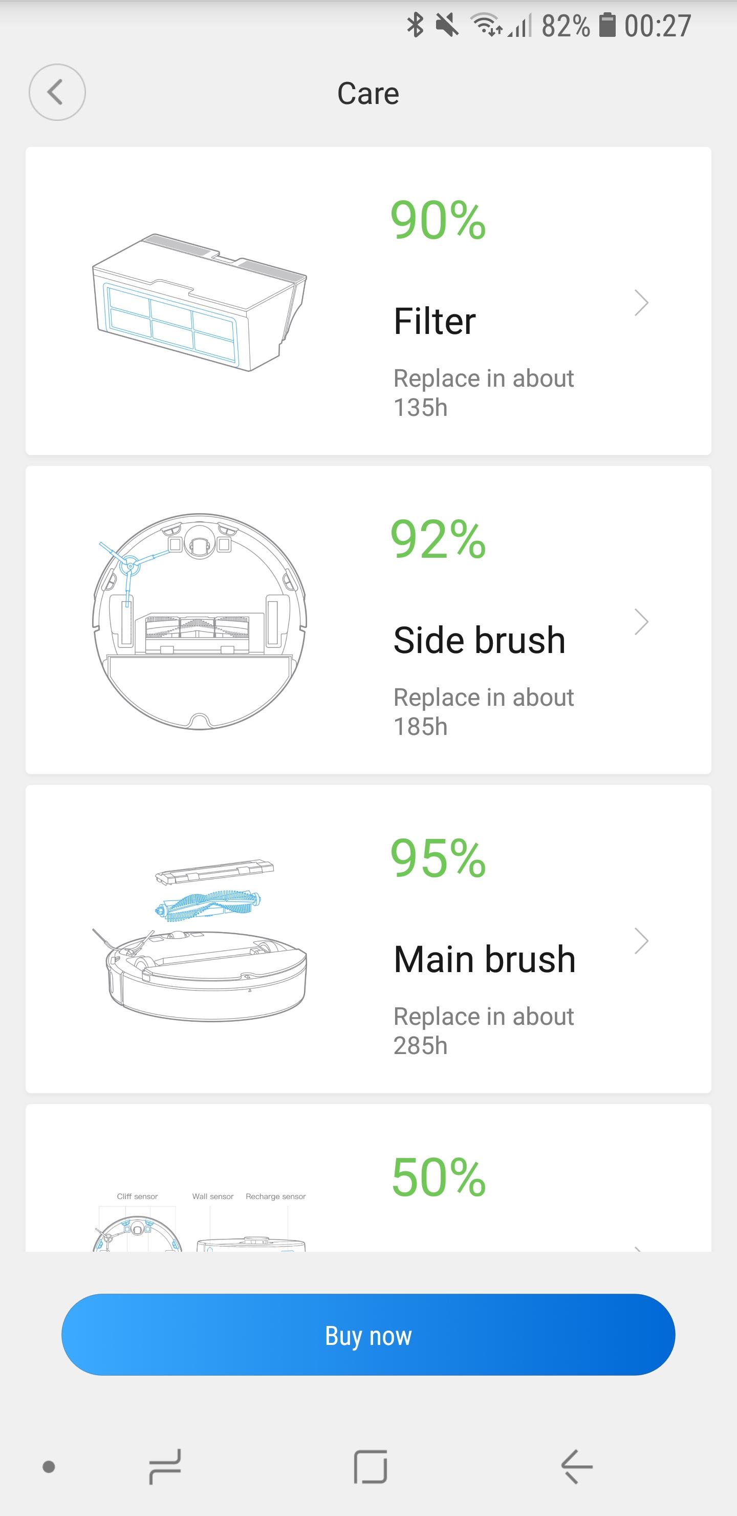 Xiaomi Mi Robot 2 App 12