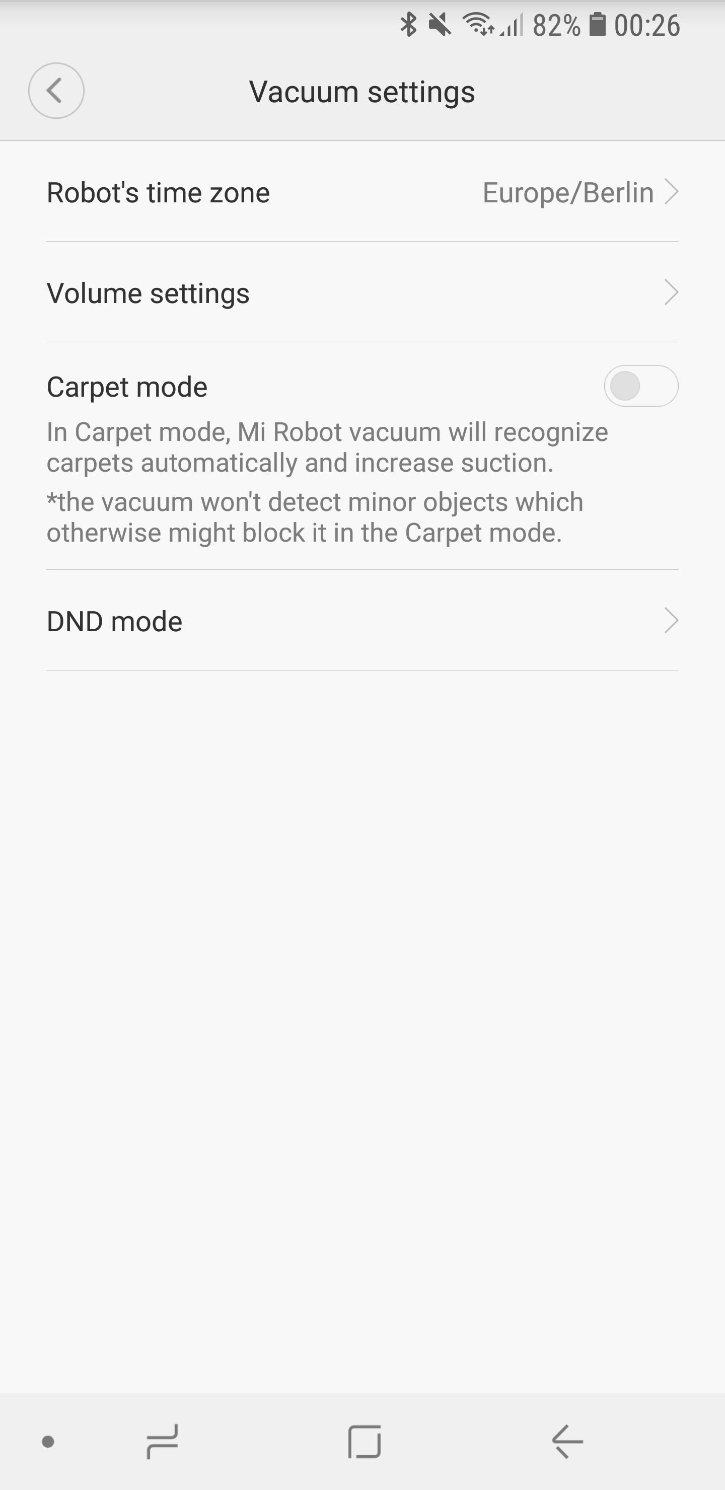 Xiaomi Mi Robot 2 App 6