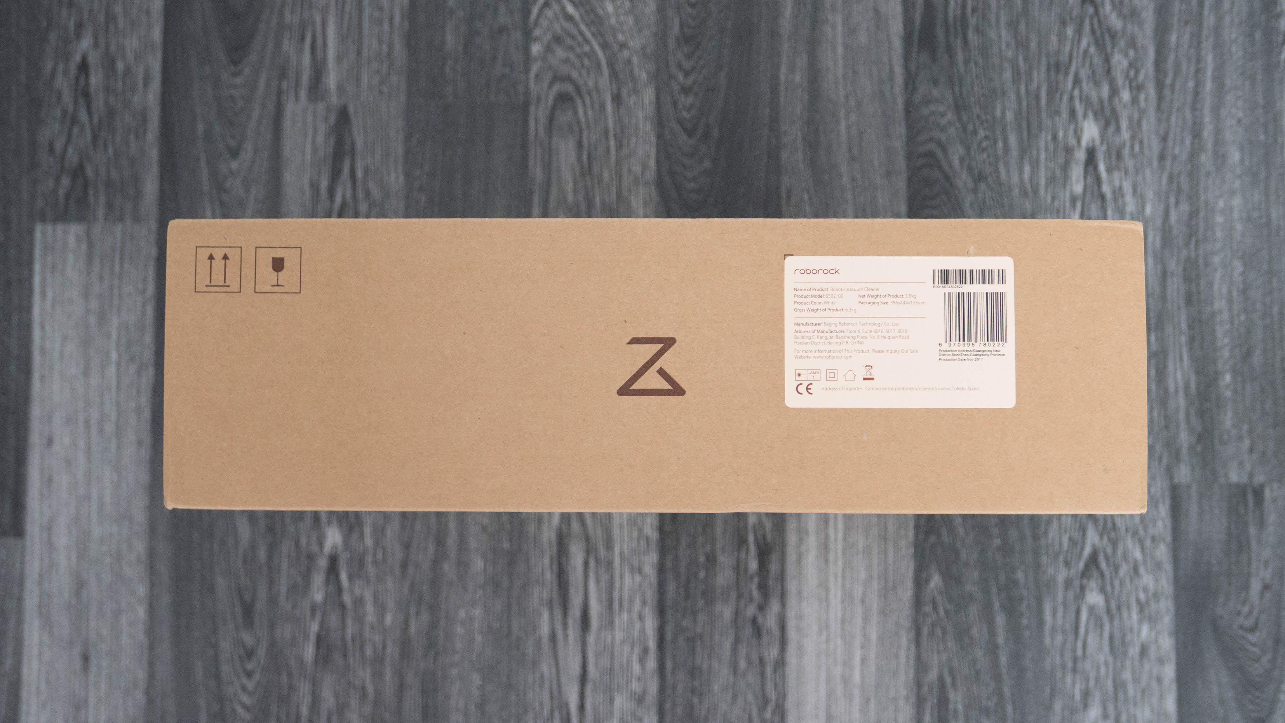 Xiaomi Mi Robot 2 Auspacken 2